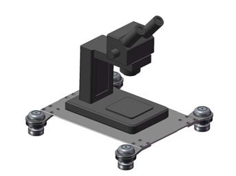 CTM-Series telescope. vibration isolation platform, low frequency mount, vibration isolation plate, anti vibration platform microscope, 卓上型除振台