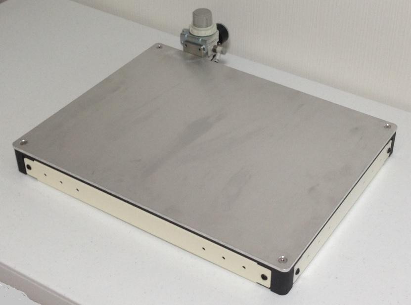 air spring type vibration isolation system platform, thickness 5cm