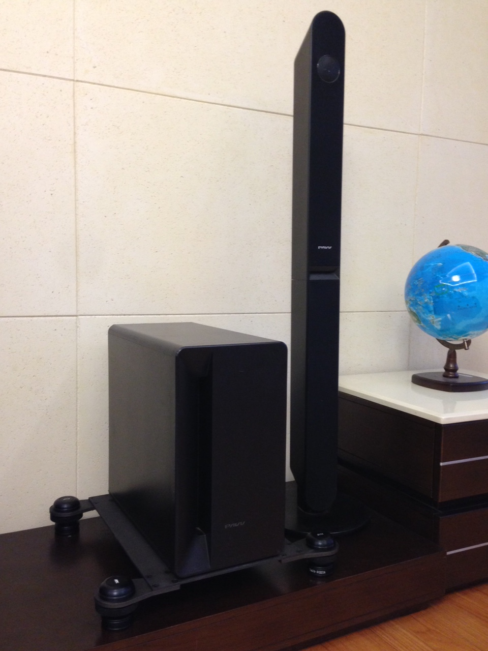 CTM3045-Coil spring vibration isolation platform for Audio Sound Speaker,anti vibration platform