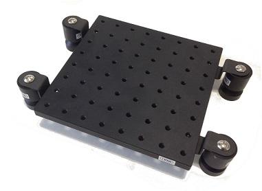 SB series with breadboard cradle type, 광학정반 제진, small type optical breadboard.