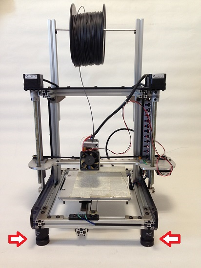 SBA series- 3D 프린터, 3D printer anti vibration mount